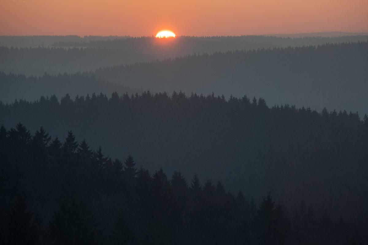 Sonnenaufgang am Stutenhaus