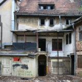 verlassenes Haus in Erfurt am Wenigemarkt